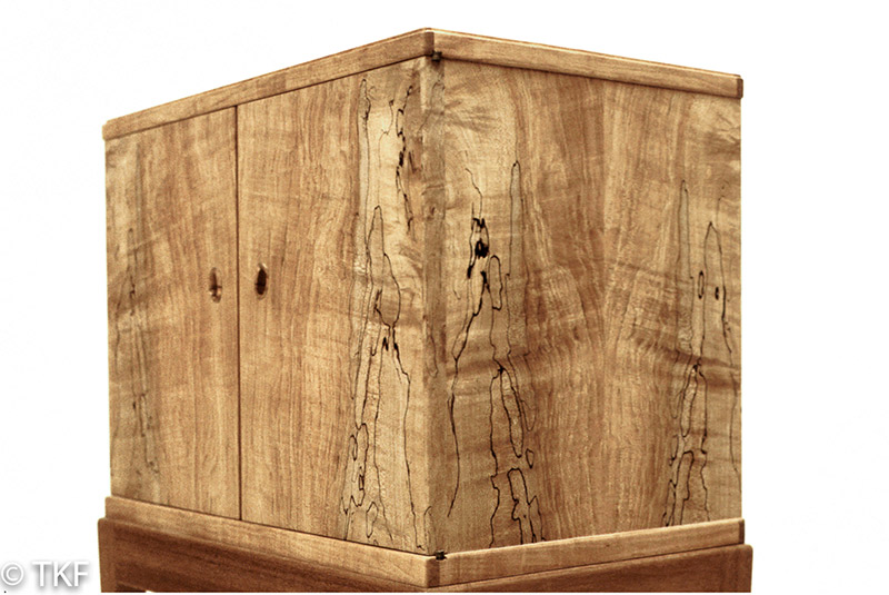 Spalted Maple Cabinet