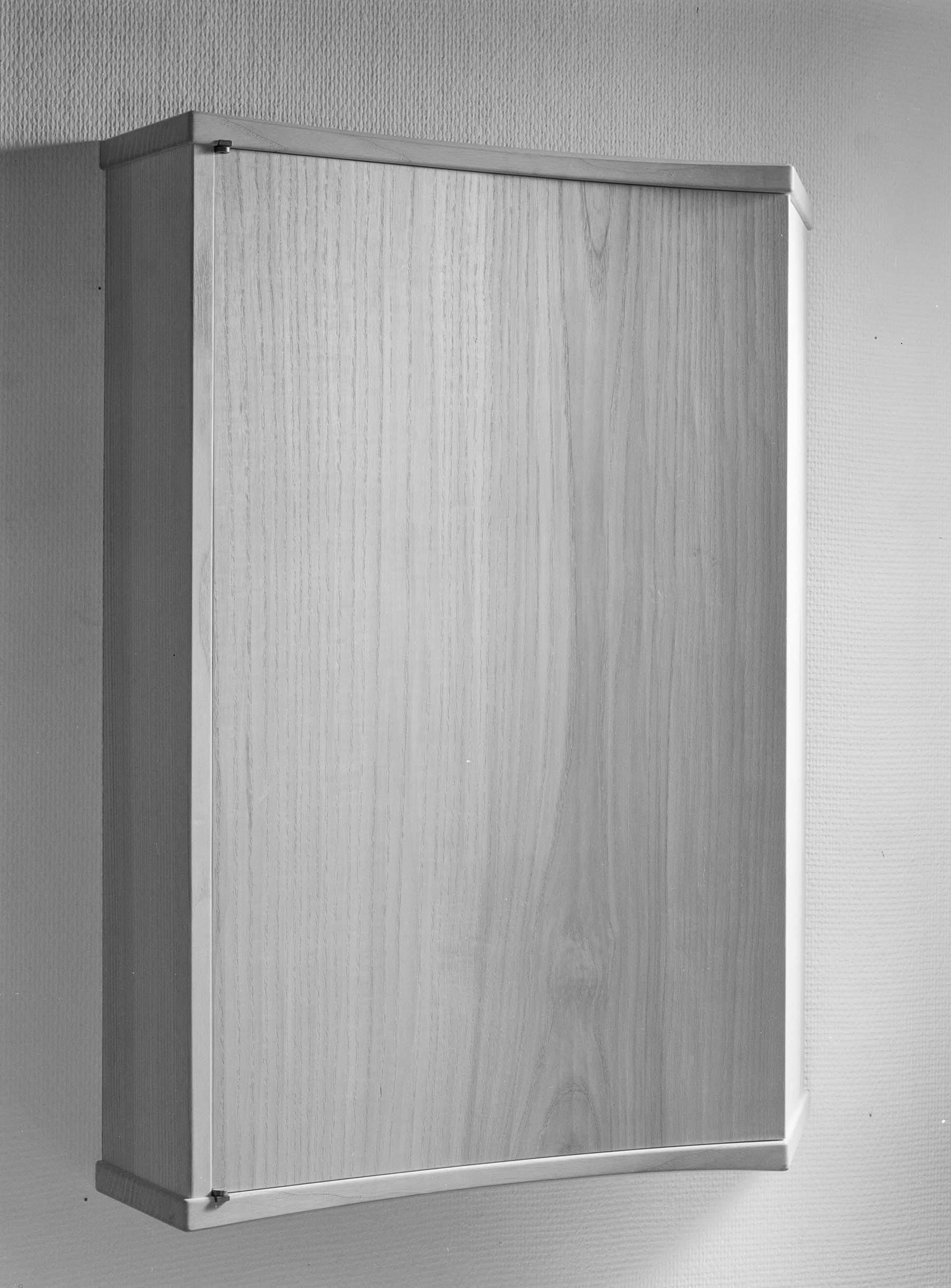 Concave Ash Wall Cabinet