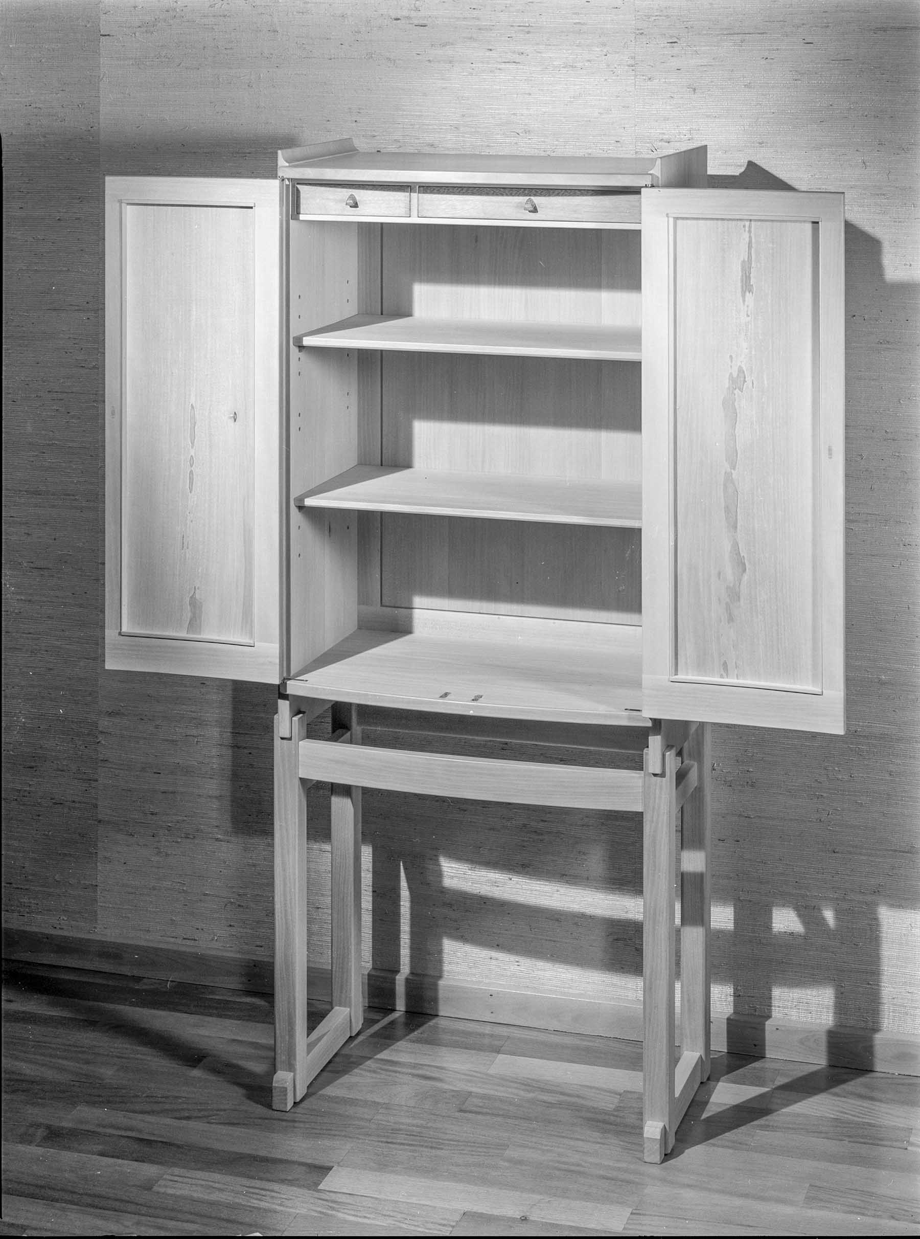 Cabinet of Natural Pear Wood