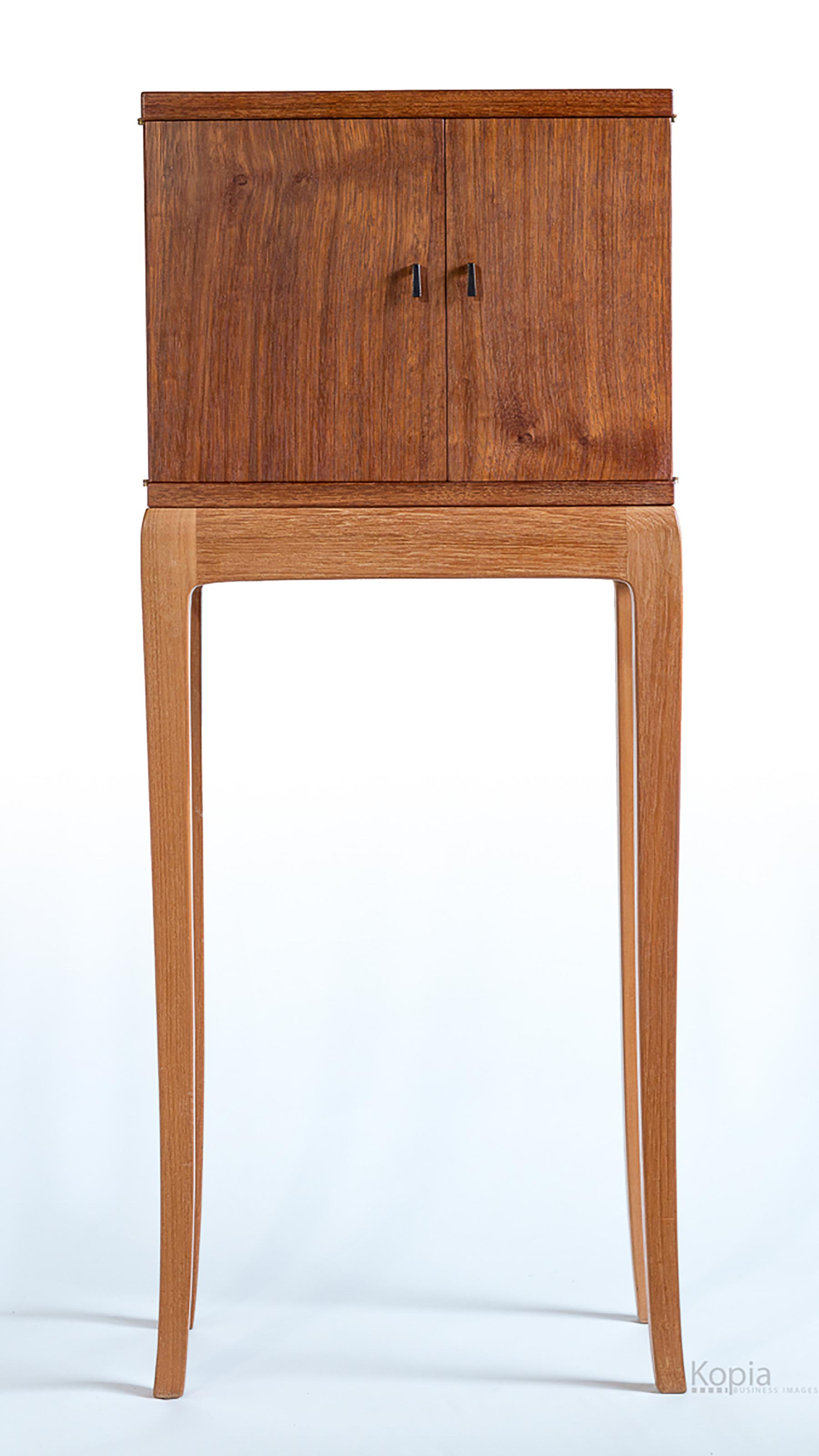 Mesquite Cabinet on a Stand